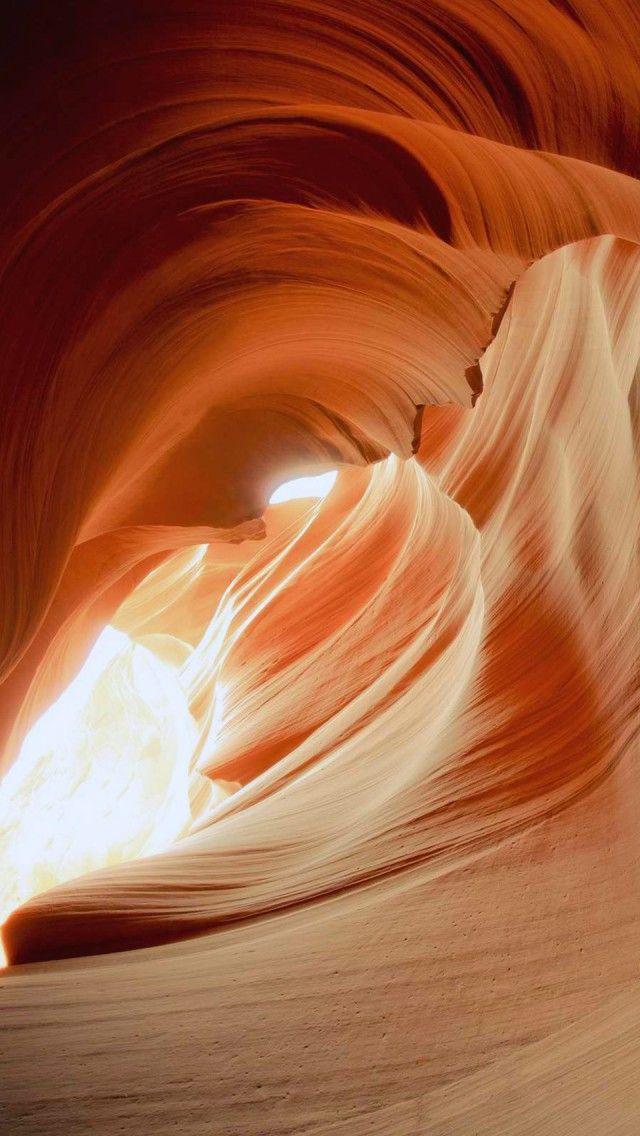 Amazing Falls Wallpaper Antelope Canyon Iphone 5 Wallpapers Nature Slot