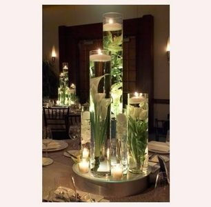 Used this concept for our wedding center pieces. And I can't wait to do it again on a new dining room table soon.