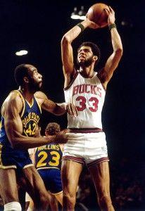 Kareem Abdul Jabbar- Starting Center