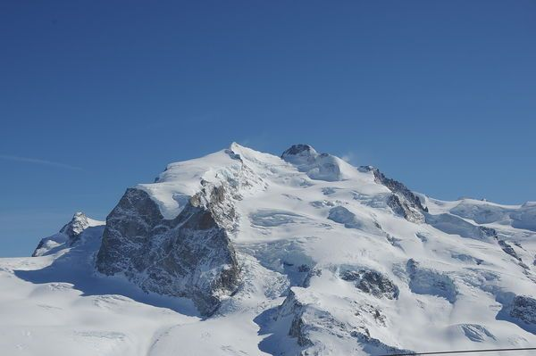 The Dufourspitze - mountain dream and motivator to work hard for summer 2015!