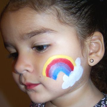 17 best ideas about easy face painting on pinterest halloween facepaint kids easy halloween. Black Bedroom Furniture Sets. Home Design Ideas