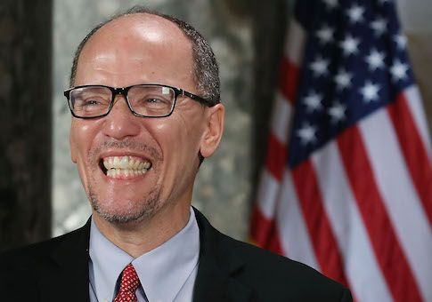 The New DNC Chair Had a Hillary Clinton-Esque Email Scandal ~ Unlike VP Mike Pence, DNC's Tom Perez violated email laws