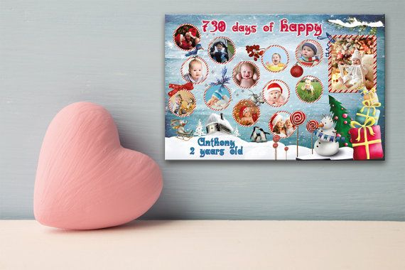 Custom Photo Collage Photo collage gift Baby от PostersCollages