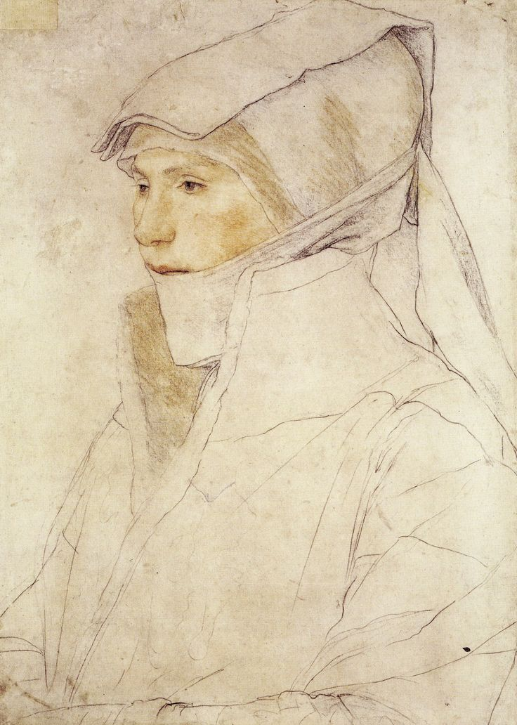 Hans Holbein portrait study