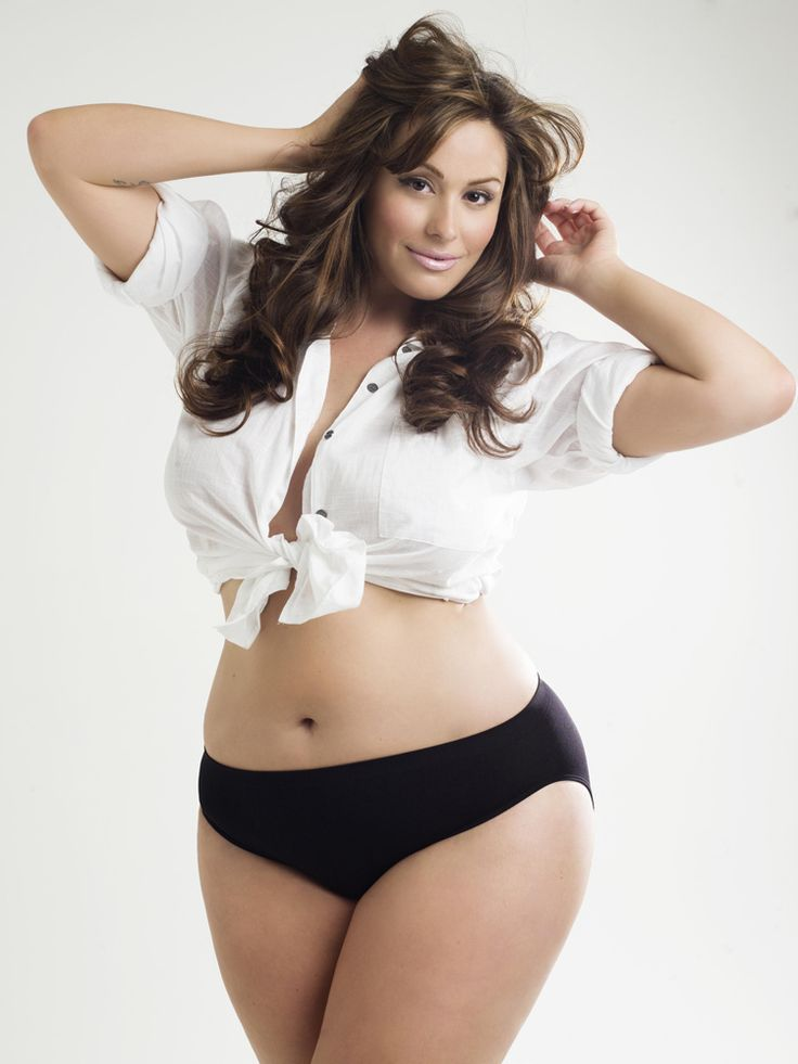 Beautiful plus size models