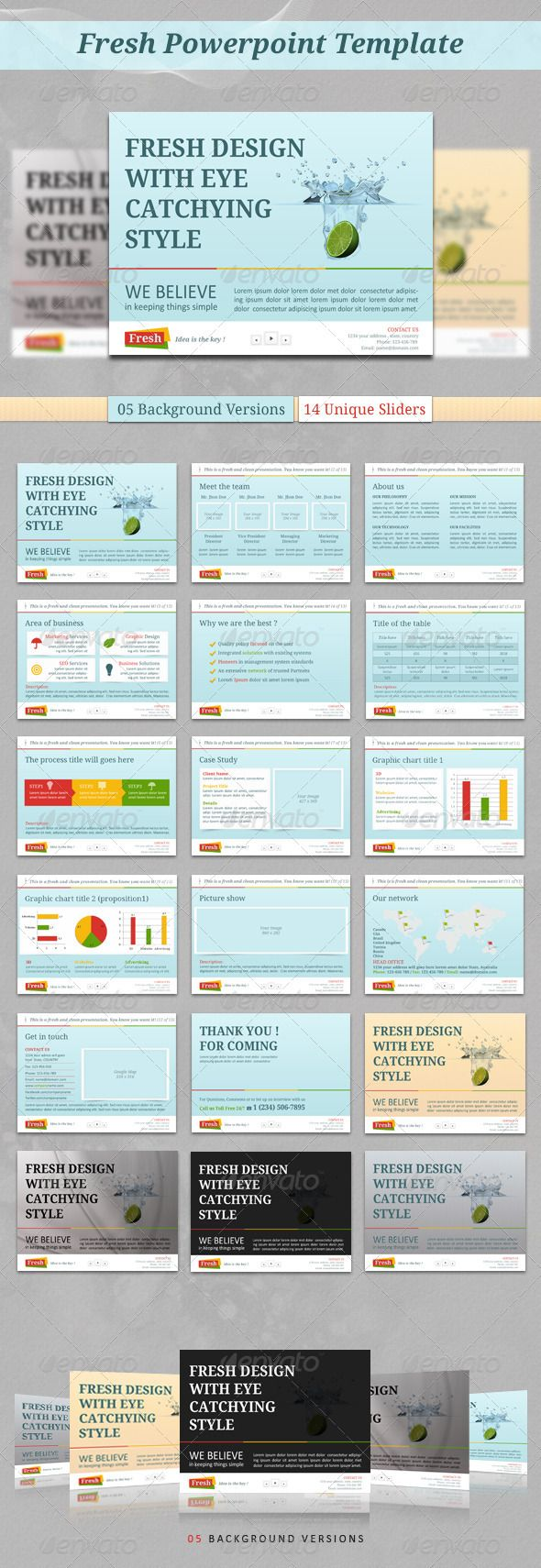 210 best power point y prezi templates/plantillas power point y, Presentation templates