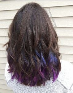 Best 25 purple peekaboo highlights ideas on pinterest purple peekaboo hair color pmusecretfo Gallery