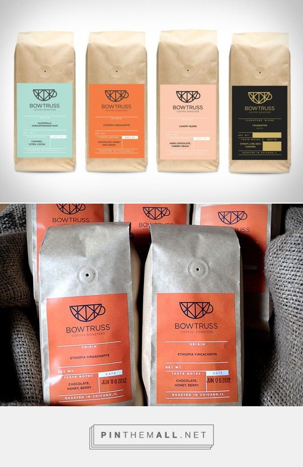 Bowtruss Coffee | Uncrate #packaging #design