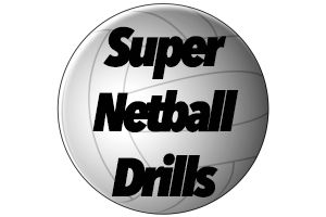 Super Netball Drills pin from my website: www.supernetballdrills.com