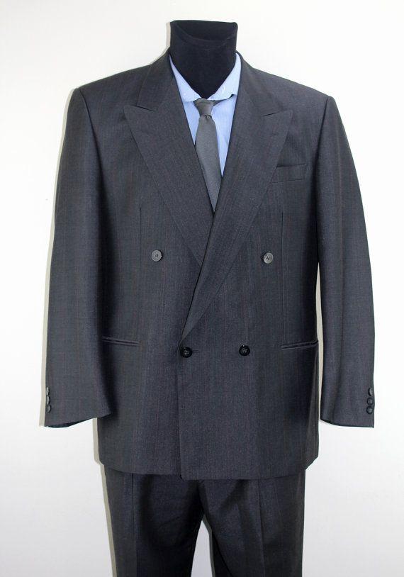 Vintage Complete suit thrift fashion Perfect condition Clothes Mens Fashion Jackets Unisex M / L Suit Jacket Pants Set Clothing 76