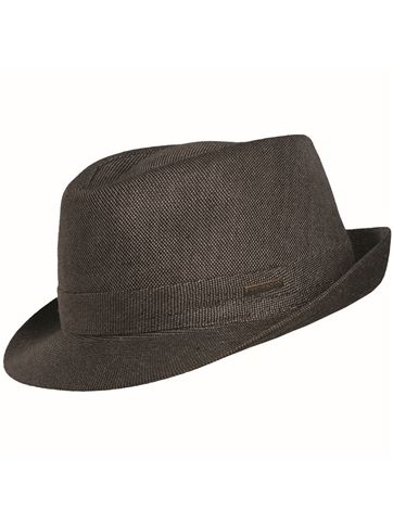 Stetson Linen Trilby Fedora Cloth Hat | Stetson