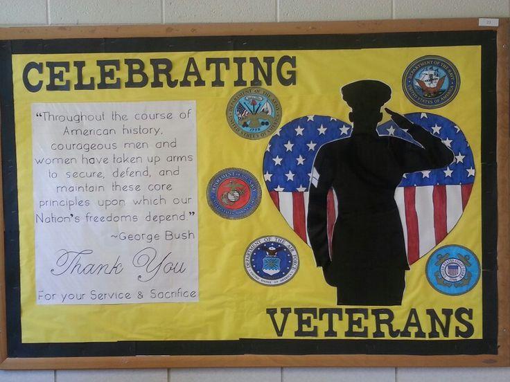 Veteran's day bulletin board 2013