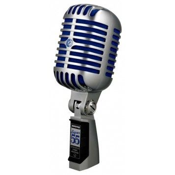 Shure Super 55 Classic Style Dynamic Mic w. Beta 58 Capsule (Supercardioid)