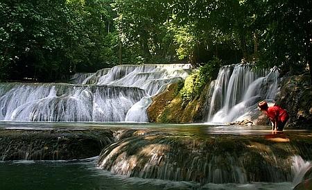 Moramo waterfall, Indonesia