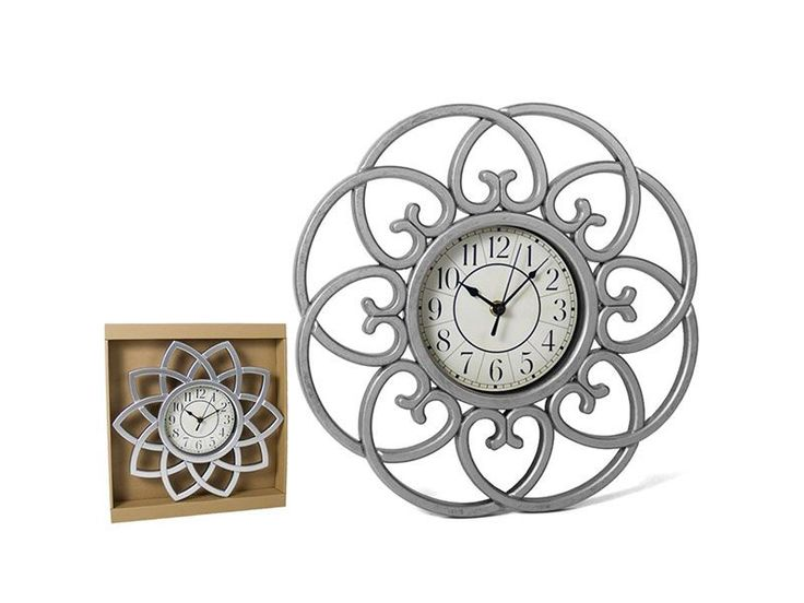 #RELOJ DE PARED CON DISEÑO DE AROS POR 10€ https://www.catayhome.es/categoria/relojes/
