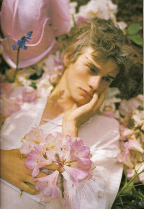 """Ideal (can we name him Adonis?), """"Dream and Magic"""" by Tim Walker"""