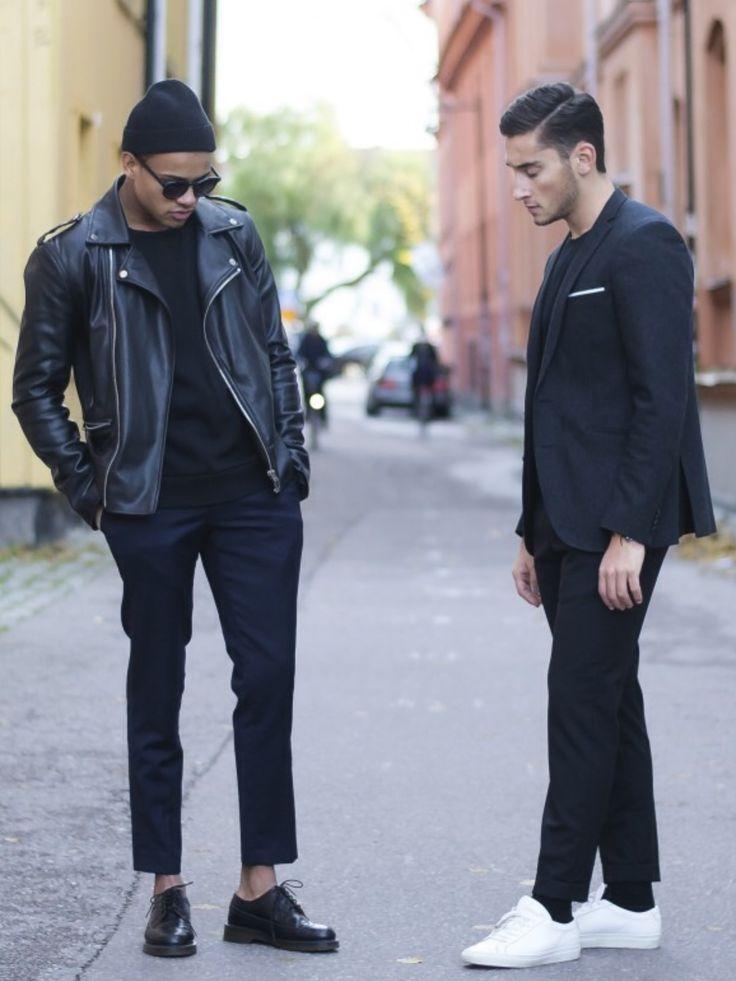 Fabuleux 456 best black # men's fashion images on Pinterest | Men's fashion  LO39