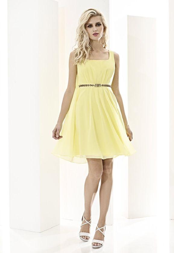 Cabotine Essential vestido amarillo nueva colección www.enriquepellejeromoda.com