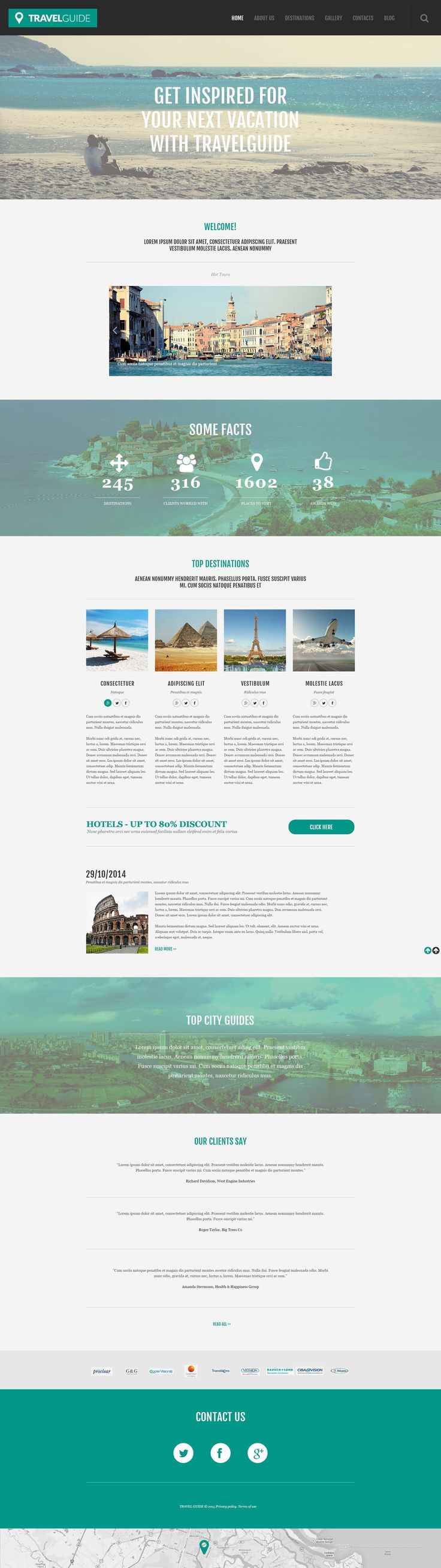 45% OFF for Theme of the Day - Travel Agency Responsive WordPress Theme #55031 http://www.templatemonster.com/wordpress-themes/55031.html
