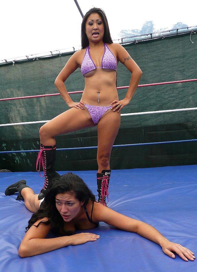 Frauen von Wrestling Sex