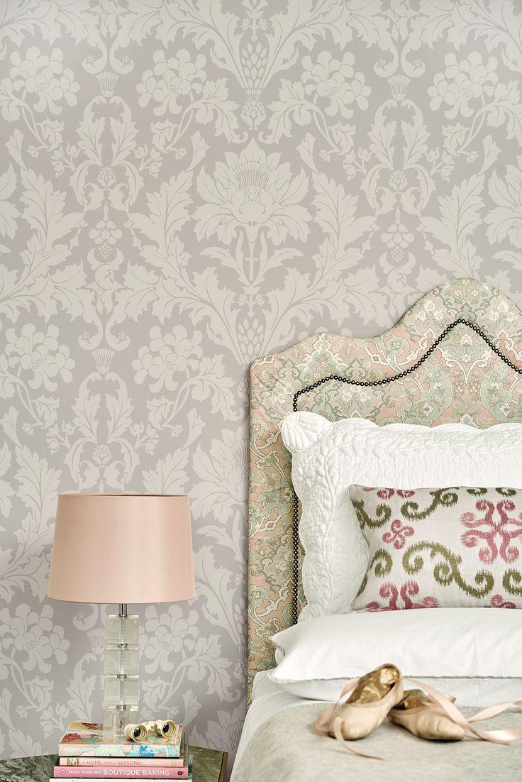 Pink Damask Wallpaper Bedroom 17 Best Images About Pattern Damask On Pinterest Damask