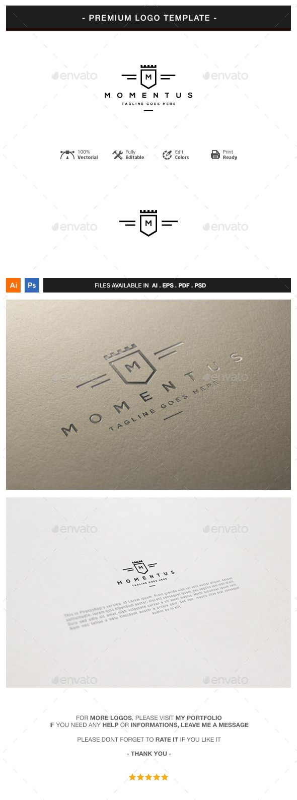Crest Logo Template #design #logotype Download: http://graphicriver.net/item/crest-logo-template/13138649?ref=ksioks