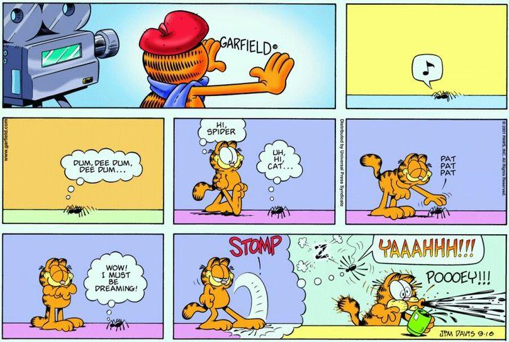 Stomp YAAAHHH!!! Poooey   Garfield comics, Garfield cartoon, Garfield and  odie