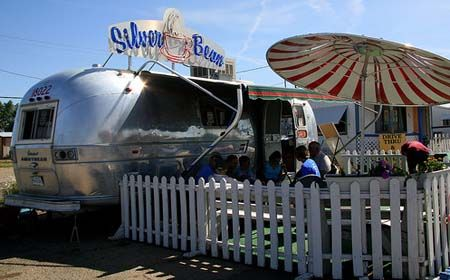 Silver Bean Coffee in an Airstream. Cortez, Colorado. I wish i would have known this was there when i visited!