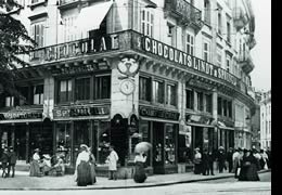Confiserie Sprungli--the oldest chocolate shop and confectionery in Zurich! I'll be there on Friday!!