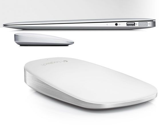 Logitech Ultrathin Touch Mouse T631 for Mac, PC, tablet