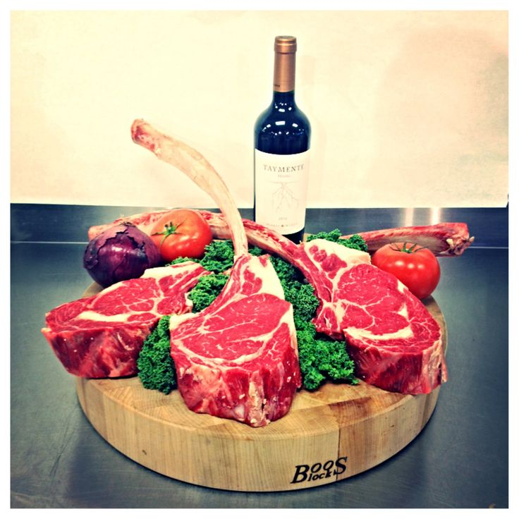 Dry Aged Prime Tomahawk Steaks. It's every man's dream to grill up one of these bad boys!