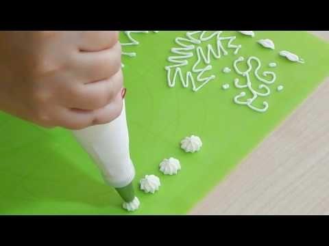 Díszítőcső használata - YouTube