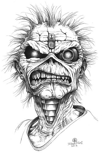 heavy metal band coloring pages - photo#31