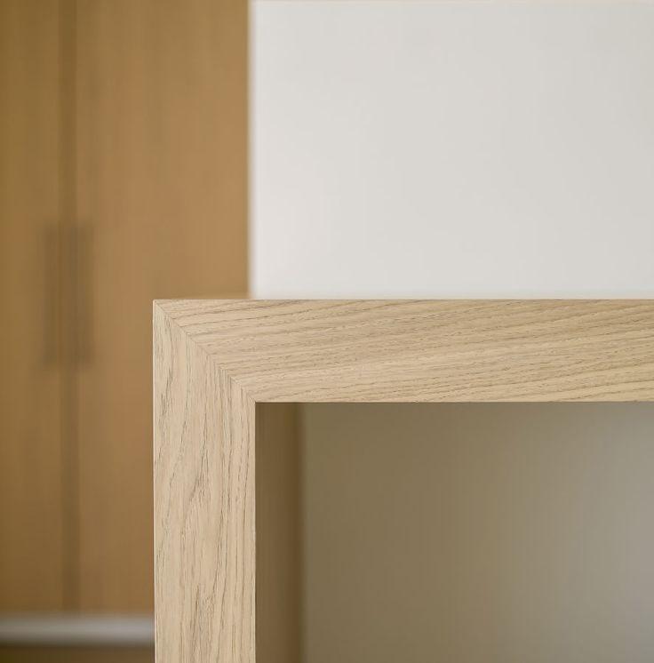 Querkus - Eiken fineer Design: Natural Oak Bewerking: Brushed