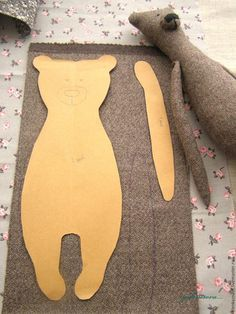 Sewing bears inspiration