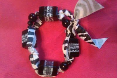 DIY Beads and Ribbon Bracelet · Jewelry Making   CraftGossip.com