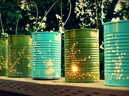 DIY Outdoor Lighting for reception - Outdoor Entertaining Ideas - Good Housekeeping