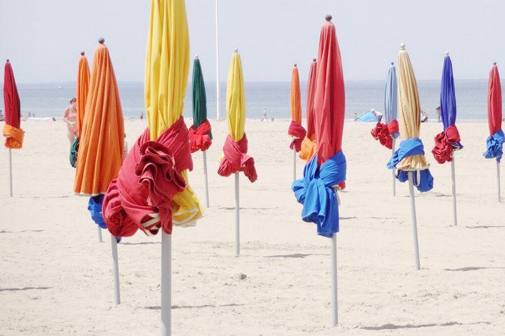Les parasols à Deauville