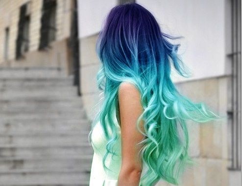I would never do this, but it looks so pretty