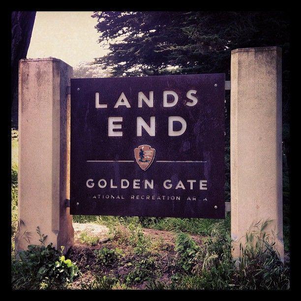 Lands End in San Francisco, CA