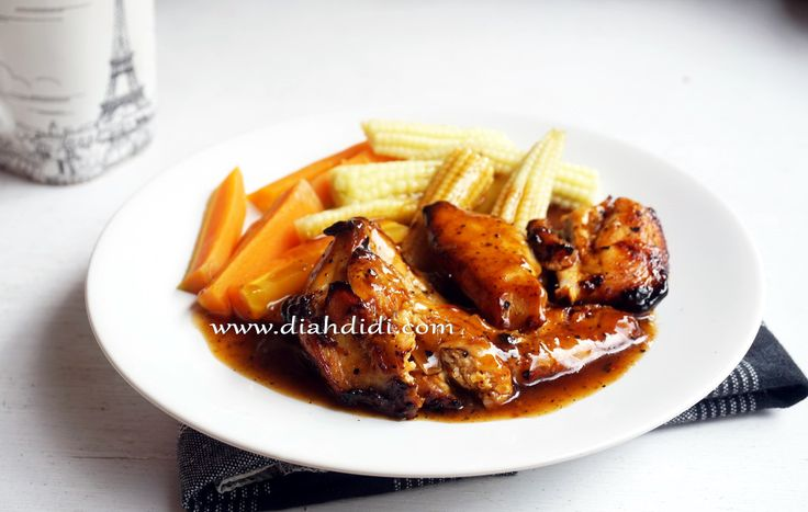 Diah Didi's Kitchen: Ayam Panggang Lada Hitam
