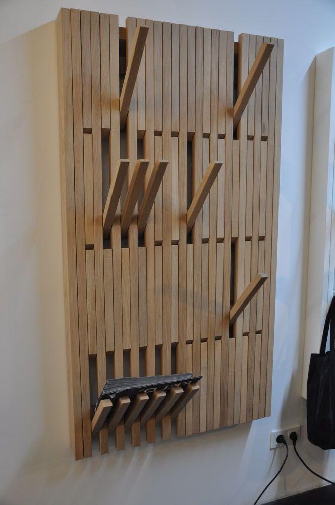 Garderobe Holz Design