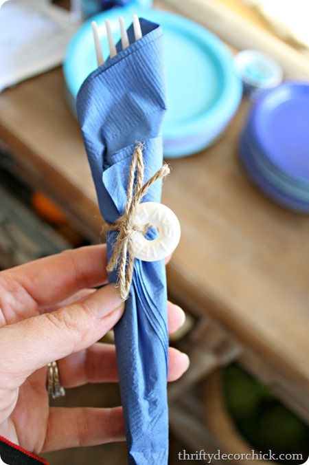 Nautical baby shower ideas -- life saver, get it? ;)