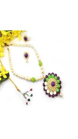 Exotic Pacchi Necklace Set @ 999/-