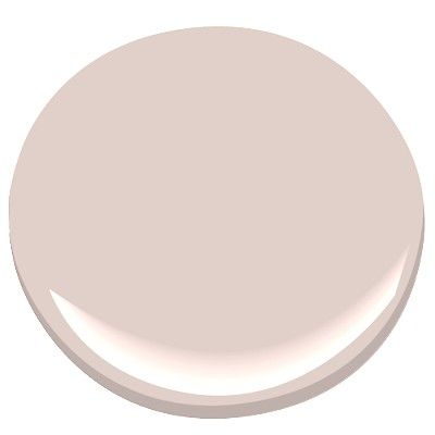 Benjamin Moore Morristown Cream...a little less pink because a guy lives here, too