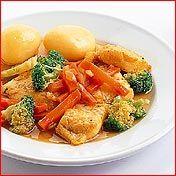 Roergebakken Vis Met Wortel En Broccoli recept   Smulweb.nl
