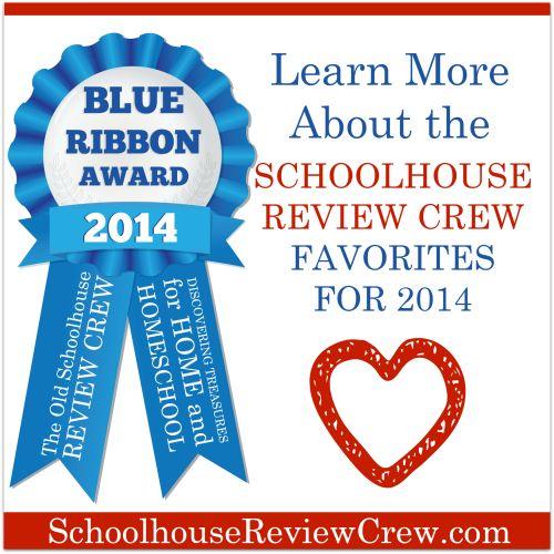Family, Faith, and Fridays: Blue Ribbon Awards- Homeschooling's Best! #curriculum #homeschooling #blueribbonawards