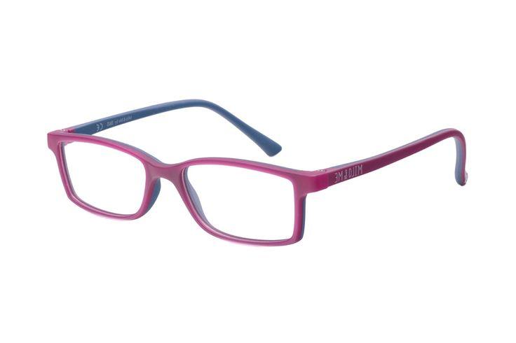 Milo & Me Modell 1 85010 25 Kinderbrille in brombeer/dunkelblau | Kinderbrillen werden durch ein spezielles Spritzgussverfahren der Materialien TR90 und weichmacherfreiem TPE hergestellt. Sie sitzen perfekt bei allen Aktivitäten in Sport und Freizeit. Material und Design vermindern deutlich...