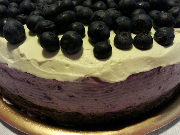 Una tentación que no es pecado! Cheesecake de arándanos!