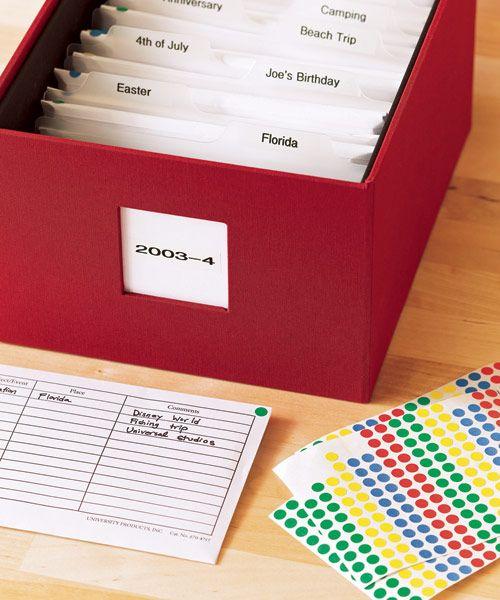 Easy Organizing: Photos